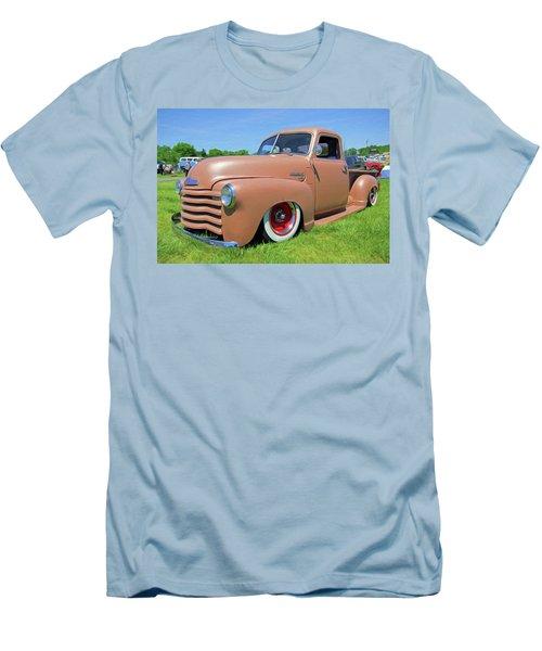 Classic Chevrolet Truck Men's T-Shirt (Slim Fit) by Marion Johnson