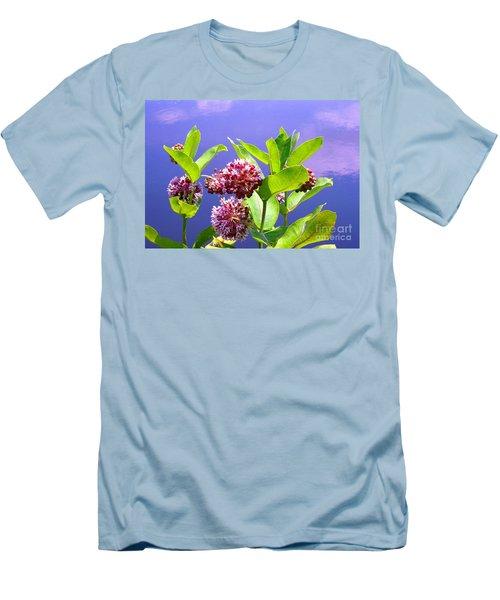 Clear Simple Beauty Men's T-Shirt (Athletic Fit)
