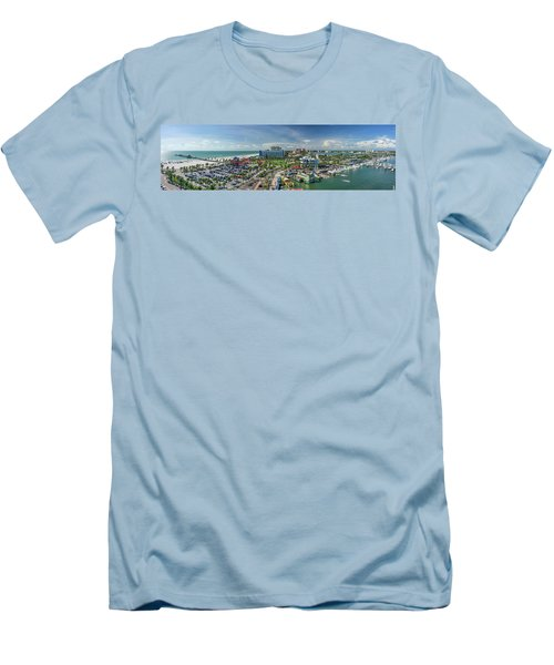 Men's T-Shirt (Athletic Fit) featuring the photograph Clearwater Beach Florida by Steven Sparks