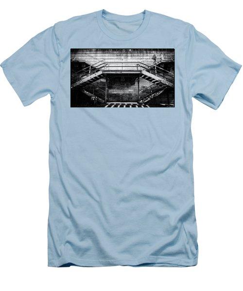 Climb The Stairs Men's T-Shirt (Slim Fit) by M G Whittingham