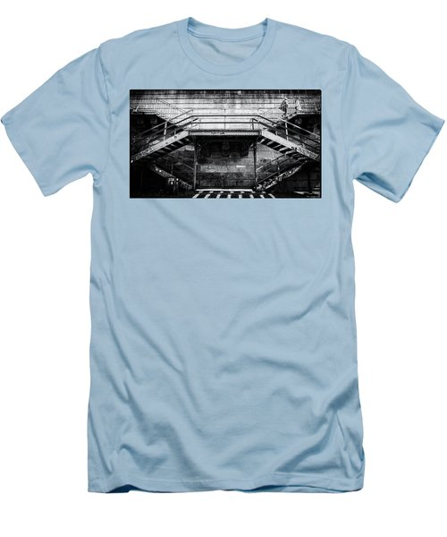 Climb The Stairs Men's T-Shirt (Athletic Fit)