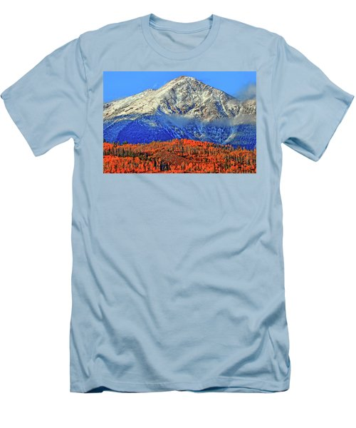 Men's T-Shirt (Slim Fit) featuring the photograph Closing In On Fall by Scott Mahon