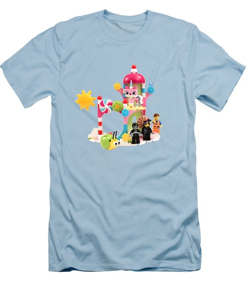 Cloud Cuckoo Land Men's T-Shirt (Slim Fit) by Snappy Brick Photos