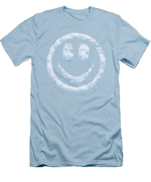 Cloud Smiley Men's T-Shirt (Athletic Fit)