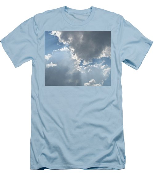 Clouds 1 Men's T-Shirt (Slim Fit) by Barbara Yearty