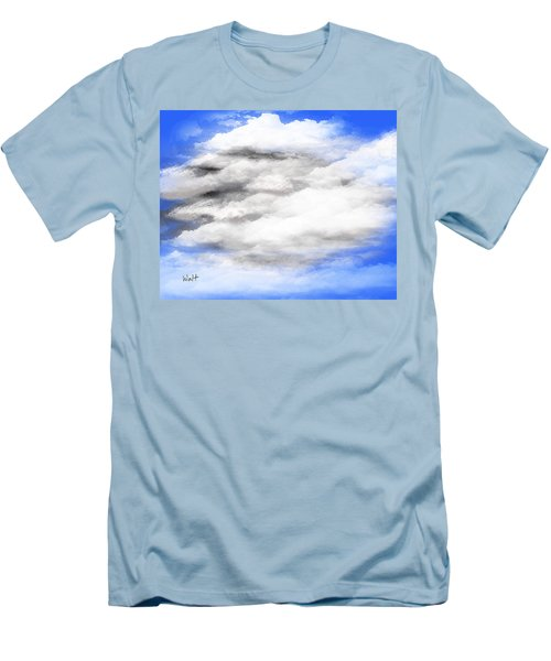 Clouds 2 Men's T-Shirt (Slim Fit) by Walter Chamberlain