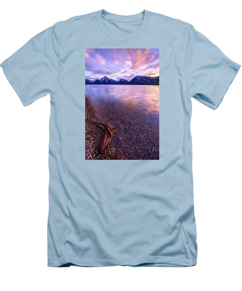Clouds And Wind Men's T-Shirt (Slim Fit) by Chad Dutson