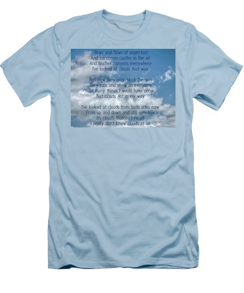 Clouds Illusions Men's T-Shirt (Athletic Fit)