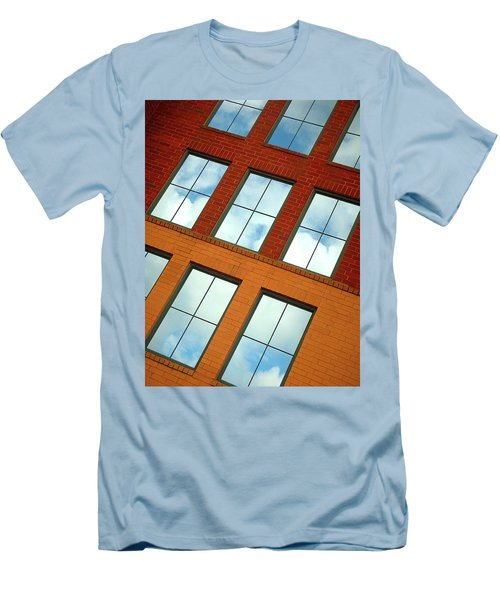 Clouds In The Windows Men's T-Shirt (Athletic Fit)