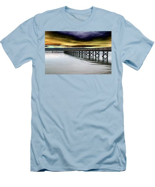 Clouds Over Illahee Men's T-Shirt (Athletic Fit)
