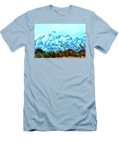 Clouds Over Vilano Beach Men's T-Shirt (Athletic Fit)