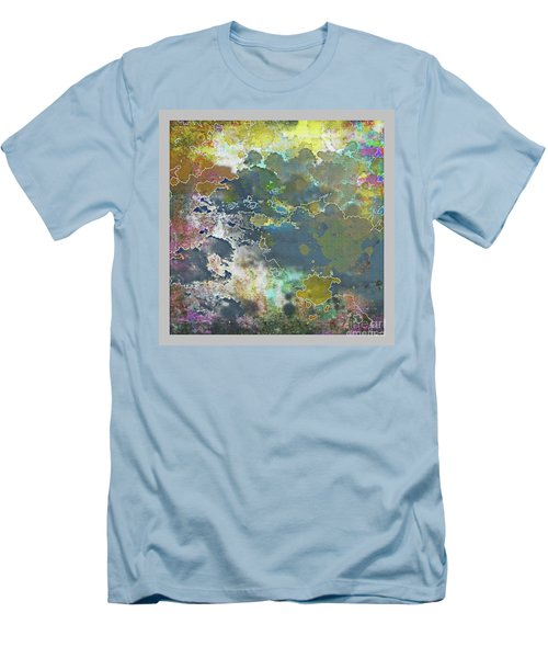 Clouds Over Water Men's T-Shirt (Slim Fit) by Deborah Nakano