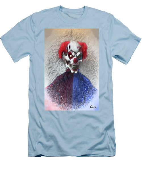 Clownitis Men's T-Shirt (Slim Fit) by Terry Cork