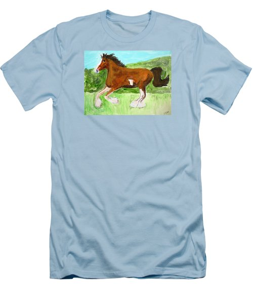 Clydesdale Men's T-Shirt (Athletic Fit)