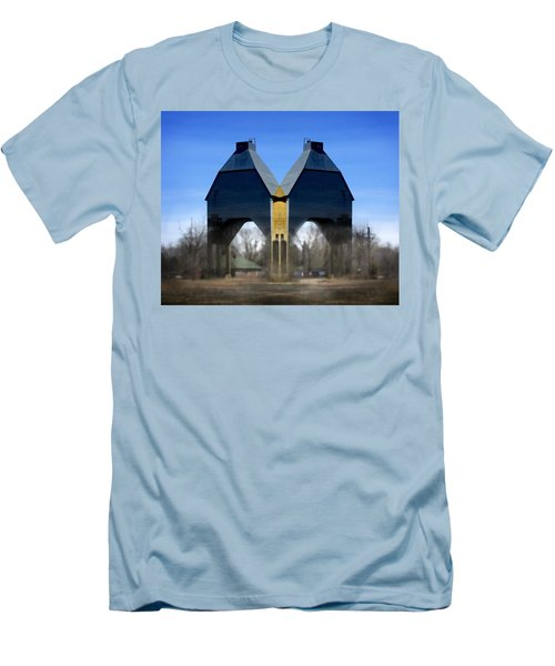 Coal Loader New Buffalo Men's T-Shirt (Athletic Fit)