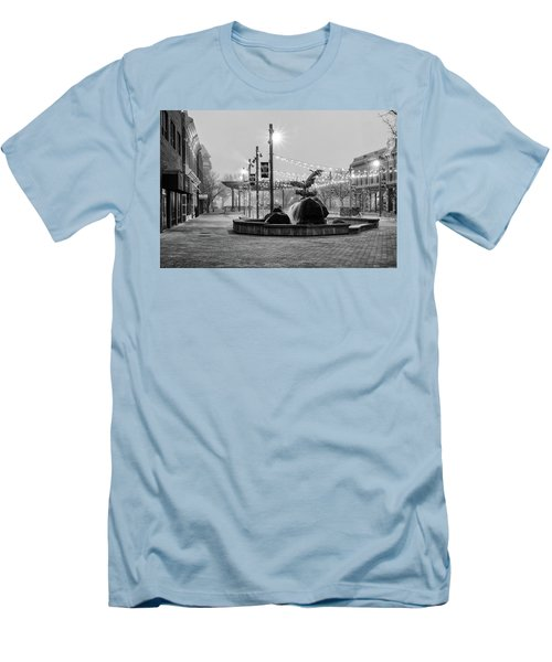Cold And Foggy Morning Men's T-Shirt (Athletic Fit)
