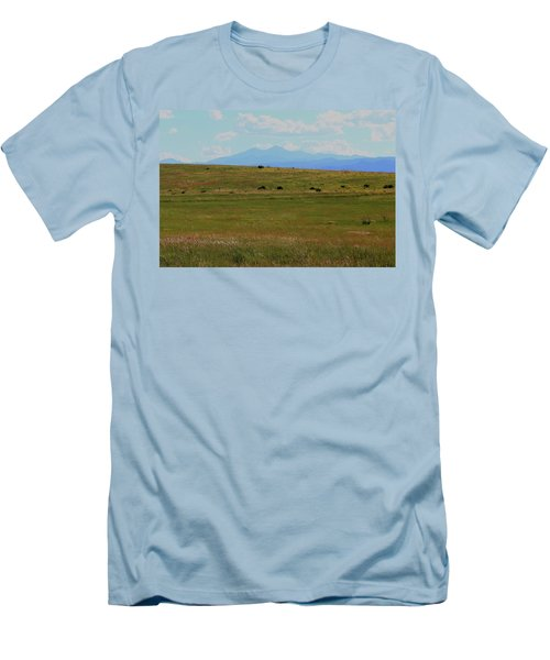 Colorado Grassland Men's T-Shirt (Athletic Fit)