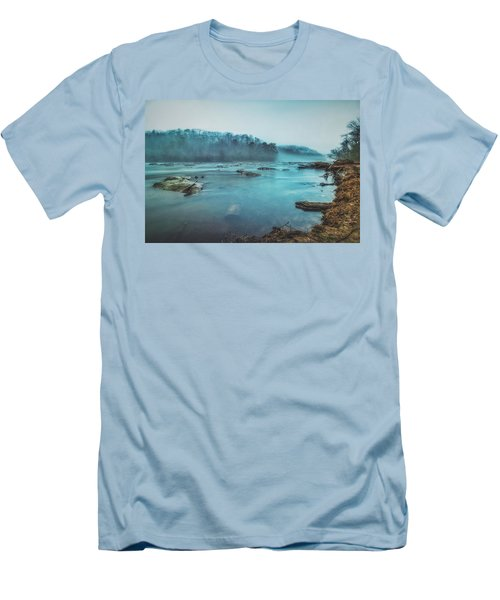 Colorful Fog Men's T-Shirt (Athletic Fit)