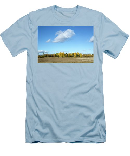 Colorful Landscape Men's T-Shirt (Slim Fit) by Kennerth and Birgitta Kullman