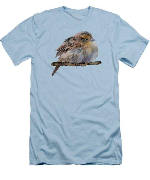 Colourful Sparrow Men's T-Shirt (Slim Fit) by Bamalam  Photography