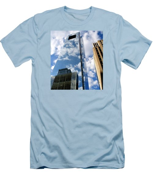Comcast Center Men's T-Shirt (Slim Fit) by Christopher Woods