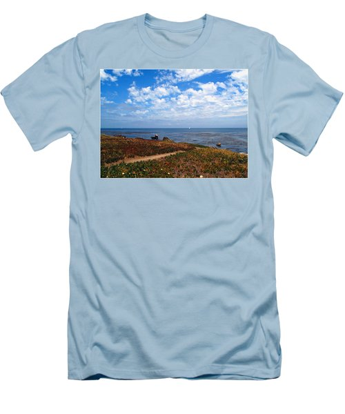 Men's T-Shirt (Slim Fit) featuring the photograph Come Sit With Me by Joyce Dickens
