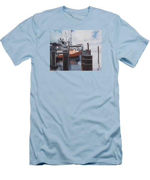 Coming Home Men's T-Shirt (Slim Fit) by Barbara Barber