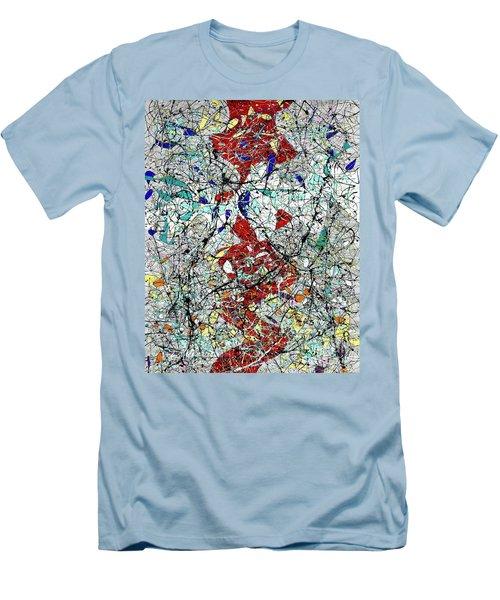 Composition #23 Men's T-Shirt (Athletic Fit)