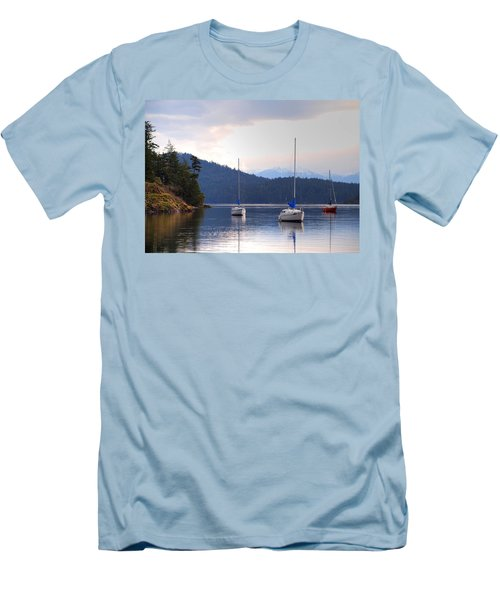 Cooper's Cove 1 Men's T-Shirt (Athletic Fit)