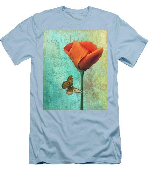 Coquelicot Men's T-Shirt (Athletic Fit)