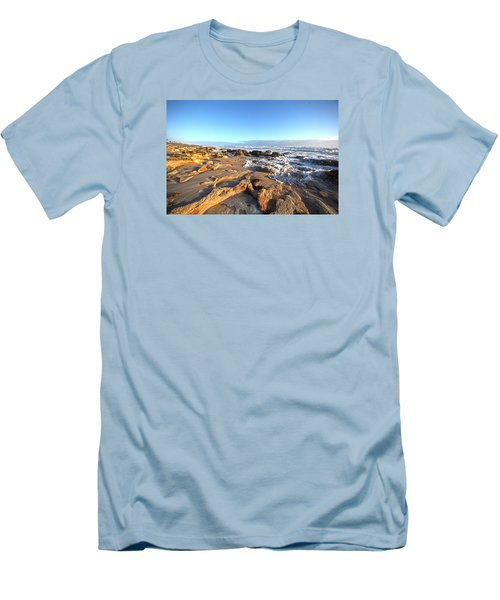 Coquina Carvings Men's T-Shirt (Slim Fit) by Robert Och