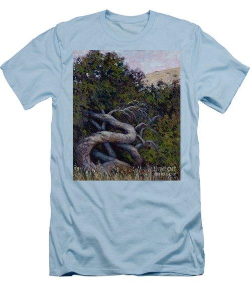 Corkscrewed Men's T-Shirt (Athletic Fit)