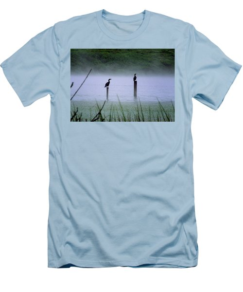 Cormorants Men's T-Shirt (Athletic Fit)