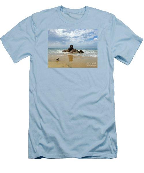 Corona Del Mar 2 Men's T-Shirt (Slim Fit) by Cheryl Del Toro