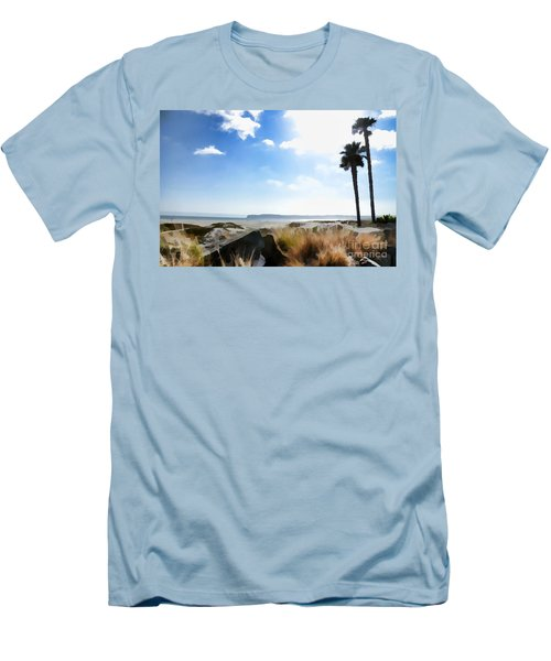 Coronado - Digital Painting Men's T-Shirt (Athletic Fit)