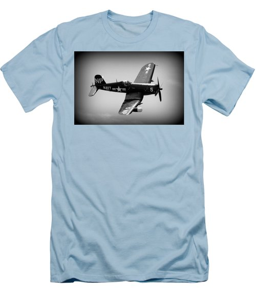 Corsair Flight Men's T-Shirt (Slim Fit) by Kevin Fortier