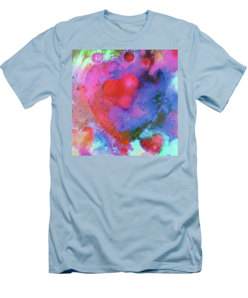 Cosmic Love Men's T-Shirt (Athletic Fit)