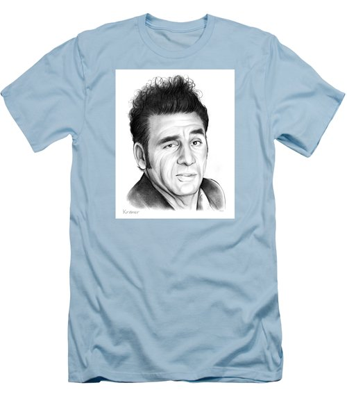 Cosmo Kramer Men's T-Shirt (Slim Fit) by Greg Joens