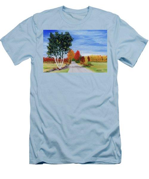 Cottage Row Men's T-Shirt (Athletic Fit)