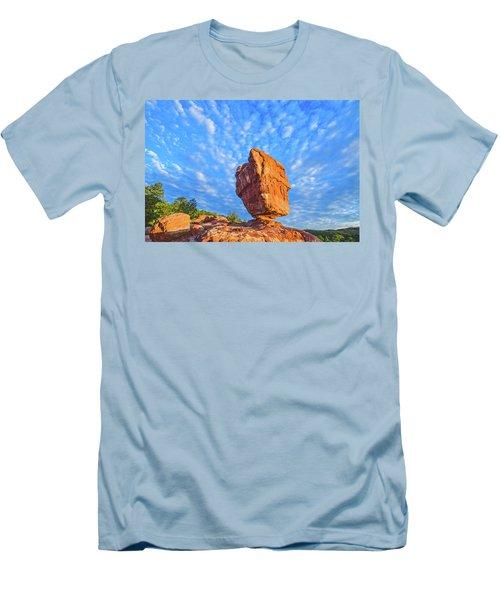 Counterpoise  Men's T-Shirt (Athletic Fit)