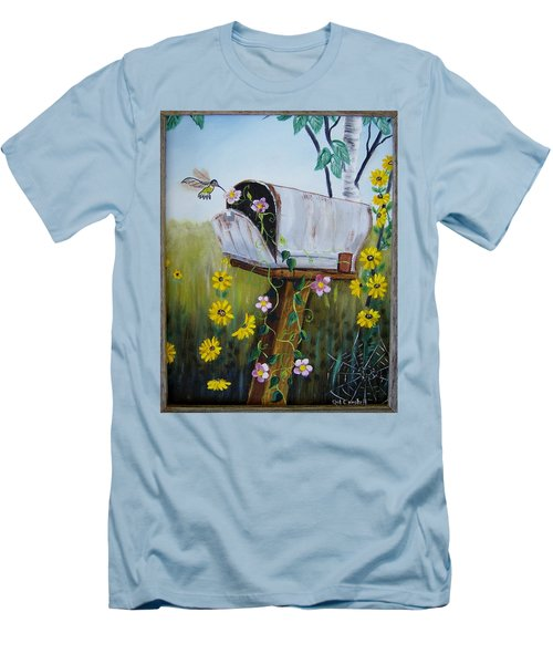 Country Mailbox Men's T-Shirt (Athletic Fit)