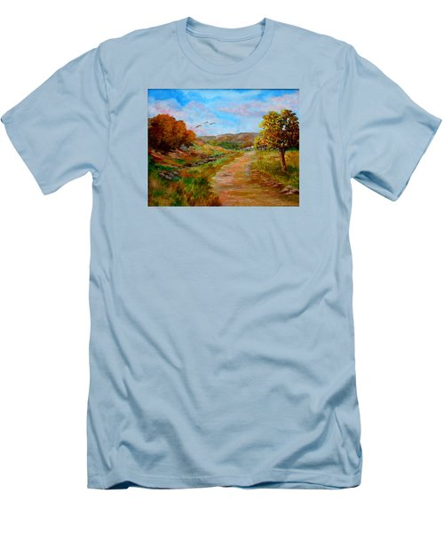 Country Road 2 Men's T-Shirt (Athletic Fit)