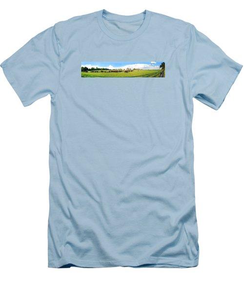 Cow Expance Men's T-Shirt (Athletic Fit)