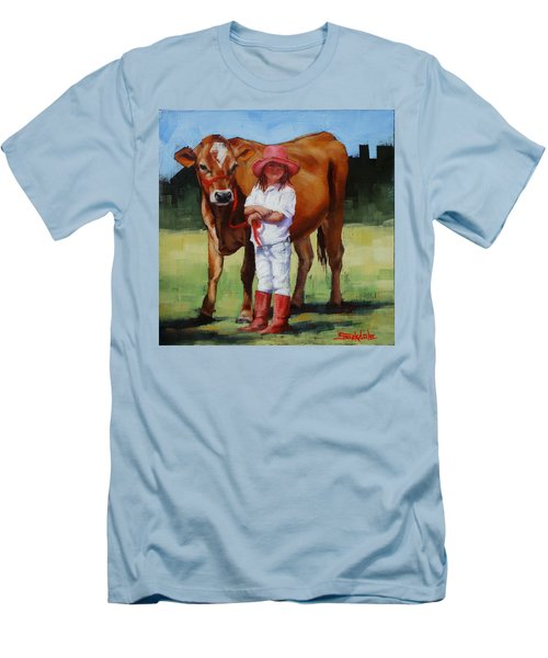 Cowgirl Besties Men's T-Shirt (Slim Fit)