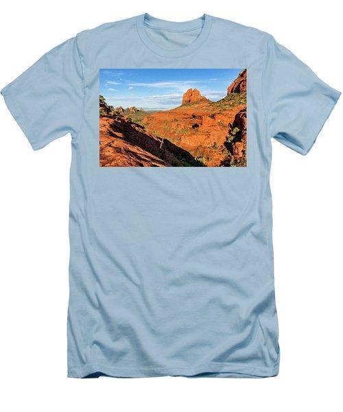 Cowpie 07-106 Men's T-Shirt (Slim Fit) by Scott McAllister