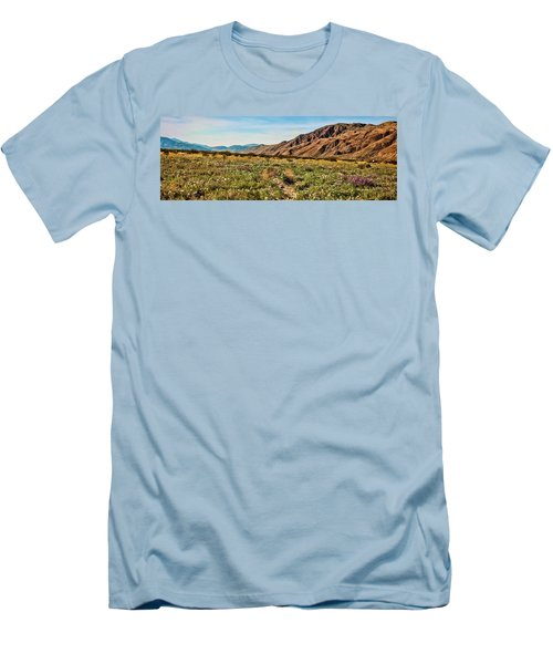 Coyote Canyon Meadow View Men's T-Shirt (Slim Fit)