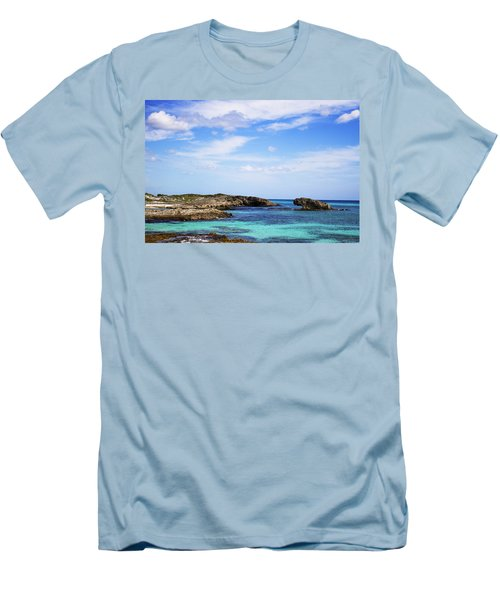 Cozumel Mexico Men's T-Shirt (Slim Fit) by Marlo Horne
