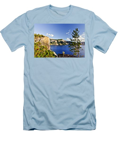 Crater Lake II Men's T-Shirt (Athletic Fit)