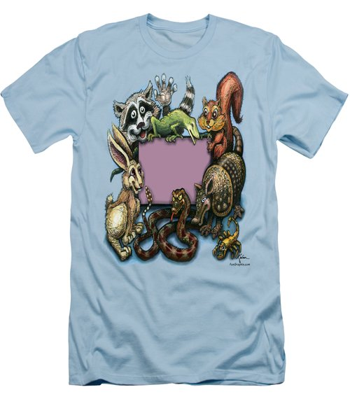 Critters Men's T-Shirt (Slim Fit) by Kevin Middleton