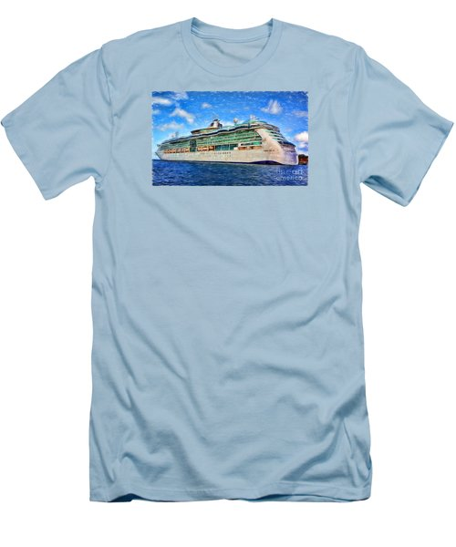 Cruising Thru Life Men's T-Shirt (Slim Fit) by Sue Melvin